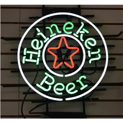 Neon - Vintage Heineken Beer Sign