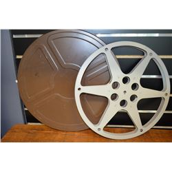 Vintage Movie Reel & Case
