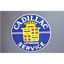 Cadillac Sign (porcelain)