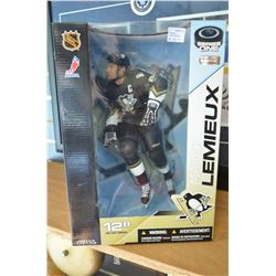Large - Collectible Mario Lemieux Action Figure