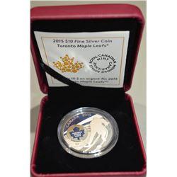 2015 $10 Silver Coin - TML