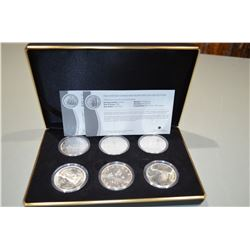 The Vintage Canadian Siler Dollar Collection