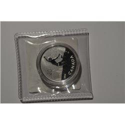 $20 Canada Dollar Silver Coin