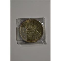1961 Canada Dollar