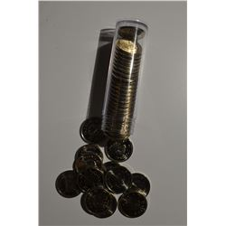 BU 1965 Canadian Nickels