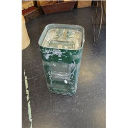 Canadian Military Metal Field Rations Container