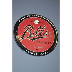 Bills - Metal Sign