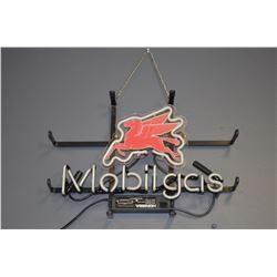 MobilGas Neon Sign - Working!