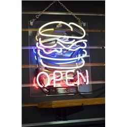 """""""Open"""" - Neon Sign"""