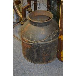 Vintage Cast Pot