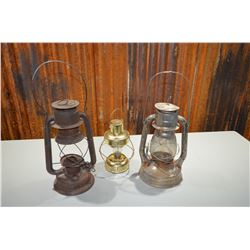 Vintage Lantern Lot
