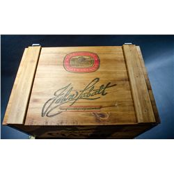 "Vintage ""John Labatt"" Wooden Box WITH shipping Original Box"