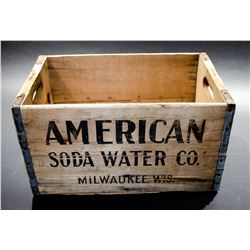 "Vintage ""Soda Water"" Box"