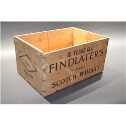 Vintage Whiskey Box