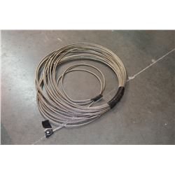 Roll New Steel Cable