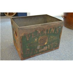 Large Vintage Tin - Original Label