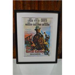 Framed Movie Poster