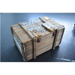 Old Travel/Shipping Crate