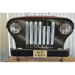 Jeep Deco Grille / With Working Headlights!
