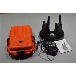 Newer FRS Radios & Waterproof case