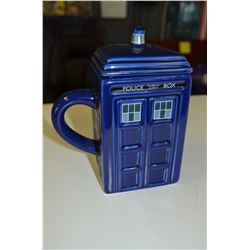 Police Call Box Mug & Lid