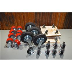 Lot of NEW Heavy-Duty Casters