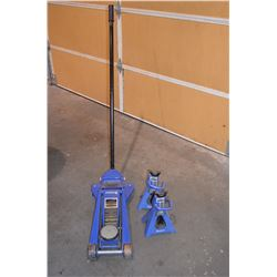 3-Tonne floor jack and stands