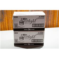 2 - Boxes Softlight Wax Candles