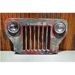 Vintage Jeep Grille - 110v (Working)