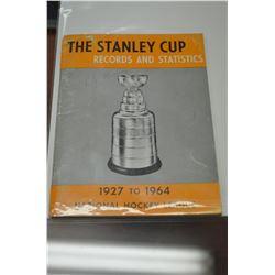 Vintage NHL Program