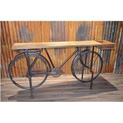 Bicycle Table - One-of-a-kind!