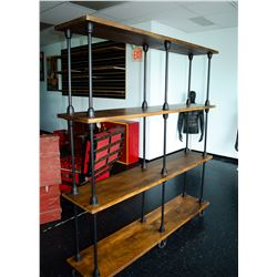 New - Large Designer Shelf (On Wheels)
