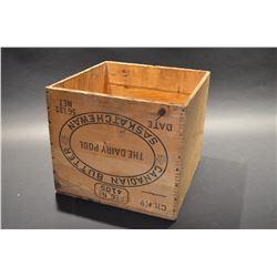 Vintage Butter Box