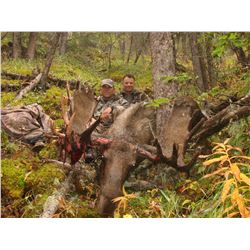 Canada Moose Hunt with Stone Mountain Safaris