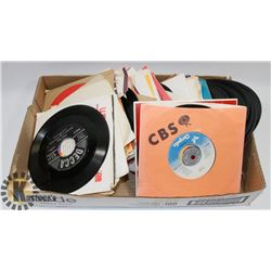 45'S VINYL COLLECTION INCLUDING ROCK