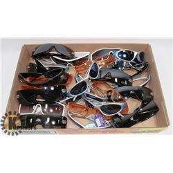 FLAT OF ASSORTED DESIGNER SUNGLASSES