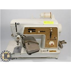 SINGER SEWING MACHINE WITH TABLE, TOUCH & SEW
