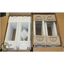 2 BOXES OF USHAPED FLUORESCENT TUBES ENVIRO LIGHT