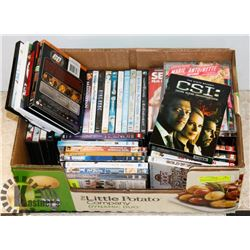 BOX OF ASSORTED DVD'S INCLUDES GONE IN 60 SECONDS,