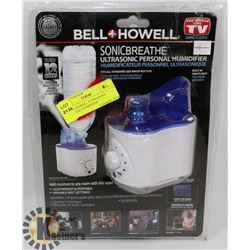 BELL & HOWELL ULTRASONIC PERSONAL HUMIDIFIER
