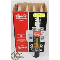 NEW CASE OF 11 LEPAGE QUAD SEALANT