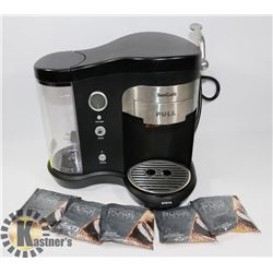 SUN CAFÉ COFFEE MACHINE WITH WOLFGANG PUCK COFFEE