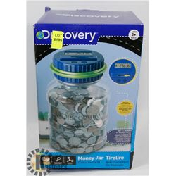 DISCOVERY COUNTING COIN BANK