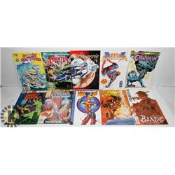 COLLECTION OF 10 ASSORTED COMICS INCLUDING
