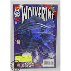 WOLVERINE #100 COMIC BOOK WITH HOLOGRAM COVER