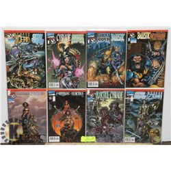 MARVEL COMICS DEVILS REIGN COMIC BOOKS ISSUES 1-8