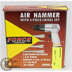 FORCE AIR HAMMER WITH CHISEL SET