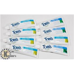 BAG OF TOM'S TOOTHPASTE