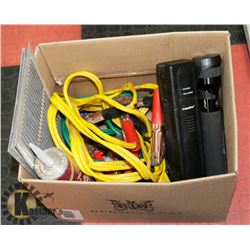 BOX WITH ASSORTED INCLUDING RECHARGEABLE