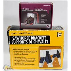 NEW SAWHORSE BRACKETS W/